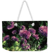 Cornflowers Autumngraphy - Photopainting Light Weekender Tote Bag