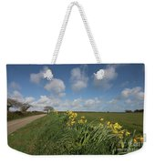 Cornish Daffodil Hedge Weekender Tote Bag