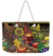 Cornucopia Overflowing Weekender Tote Bag