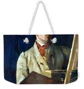 Corot With Easel, 1825 Weekender Tote Bag