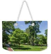 Corr Hall Green Space Weekender Tote Bag