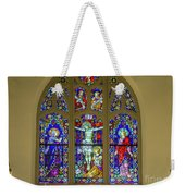 Corr Hall Stain Glass Weekender Tote Bag