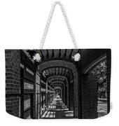 Corridor Of Brick And Stone Weekender Tote Bag
