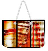 Corrugated Iron Triptych #4 Weekender Tote Bag