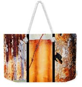Corrugated Iron Triptych #8 Weekender Tote Bag