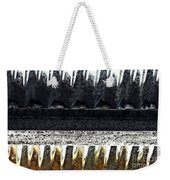 Corrugated Metal Abstract 9 Weekender Tote Bag