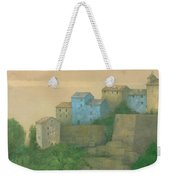 Corsican Hill Top Village Weekender Tote Bag