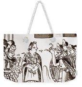 Cortes & Montezuma, 1519 Weekender Tote Bag