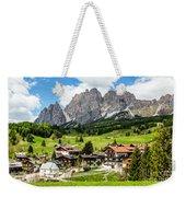 Cortina D'ampezzo, Italy Weekender Tote Bag