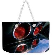Corvette Tail Lights Weekender Tote Bag