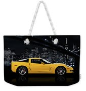 Corvette Z06 Gt1 Weekender Tote Bag by Mark Rogan