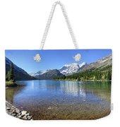 Cosley Lake Outlet - Glacier National Park Weekender Tote Bag