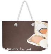 Cosmetics Advert  Weekender Tote Bag