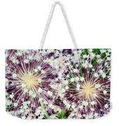 Cosmic Blooms Weekender Tote Bag
