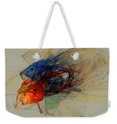 Cosmic Fish Weekender Tote Bag