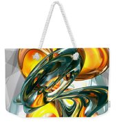 Cosmic Flame Abstract Weekender Tote Bag