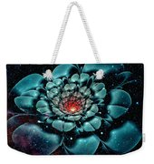 Cosmic Flower Weekender Tote Bag