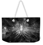 Cosmic Heart Of The Universe Bw Weekender Tote Bag