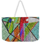 Cosmic Lifeways Mosaic Weekender Tote Bag