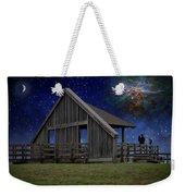 Cosmic Observation Deck Weekender Tote Bag