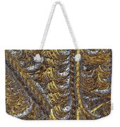 Cosmic Patterns - Hoarfrost Weekender Tote Bag