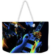 Cosmic Rock Guitar Weekender Tote Bag