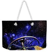Cosmic Wheel Weekender Tote Bag