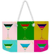 Cosmopolitan Pop Art Panels Weekender Tote Bag