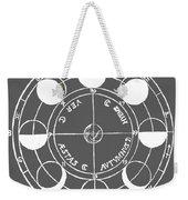 Cosmos 17 Tee Weekender Tote Bag