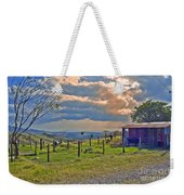 Costa Rica Cow Farm Weekender Tote Bag