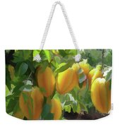 Costa Rica Star Fruit Known As Carambola Weekender Tote Bag