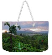 Costa Rica Volcano View Weekender Tote Bag