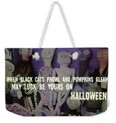Costume Party Quote Weekender Tote Bag