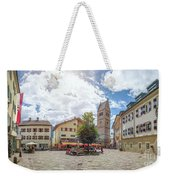 Cosy Old Mountain Village Weekender Tote Bag