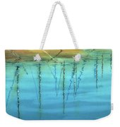 Cote D'azur Harbor Boats Weekender Tote Bag