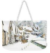 Cotswold Village Weekender Tote Bag