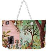Cottage Garden 1 Weekender Tote Bag