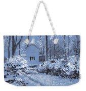 Cottage In The Woods Weekender Tote Bag