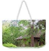 Cottage Orange Island  Louisiana  Weekender Tote Bag