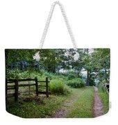 Cottage Path Weekender Tote Bag