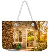 Cottage Sunset In Deep Cove, Nova Scotia Weekender Tote Bag