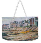Cottages Along Moody Beach Weekender Tote Bag