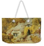 Cottages At Selworthy, Somerset Weekender Tote Bag