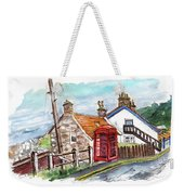 Cottages In Runswick Bay Weekender Tote Bag