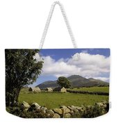 Cottages On A Farm Near The Mourne Weekender Tote Bag