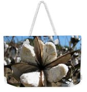 Cotton Weekender Tote Bag