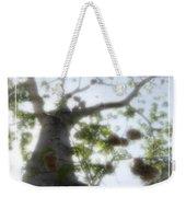 Cotton Ball Tree Weekender Tote Bag