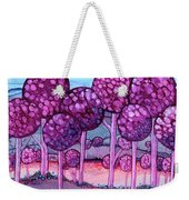 Cotton Candy Forest Weekender Tote Bag