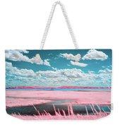 Cotton Candy Marsh Weekender Tote Bag