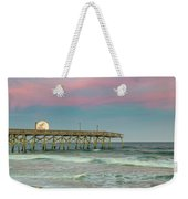 Cotton Candy Moonrise Weekender Tote Bag